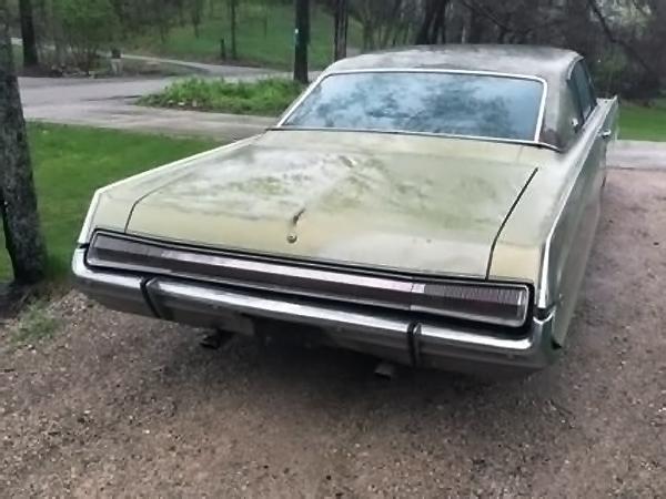 050816 Barn Finds - 1968 Dodge Polara 500 - 2