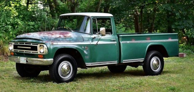 051616 Barn Finds - 1968 International 1200 pickup - 1