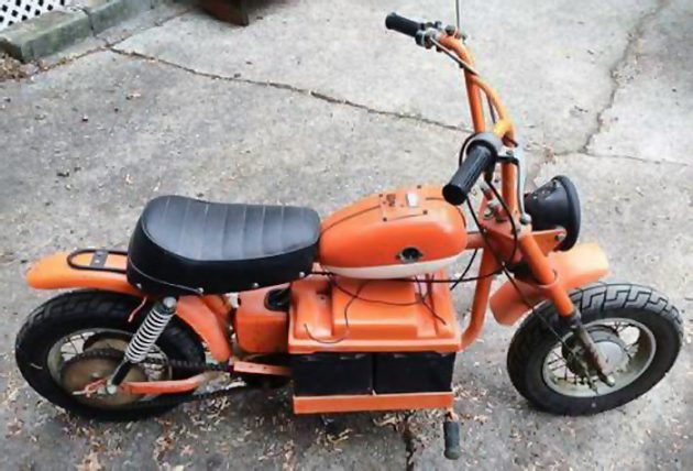 051916 Barn Finds - 1973 Auranthetic Charger Electric Mini-bike - 3