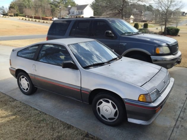 051916 Barn Finds - 1987 Honda CRX HF - 2