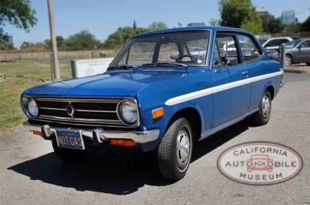 052016 Barn Finds - 1972 Datsun 1200 EV - 2
