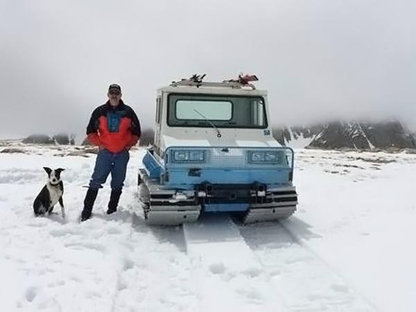 052416 Barn Finds - 1979 Bombardier Bombi Snowcat - 2