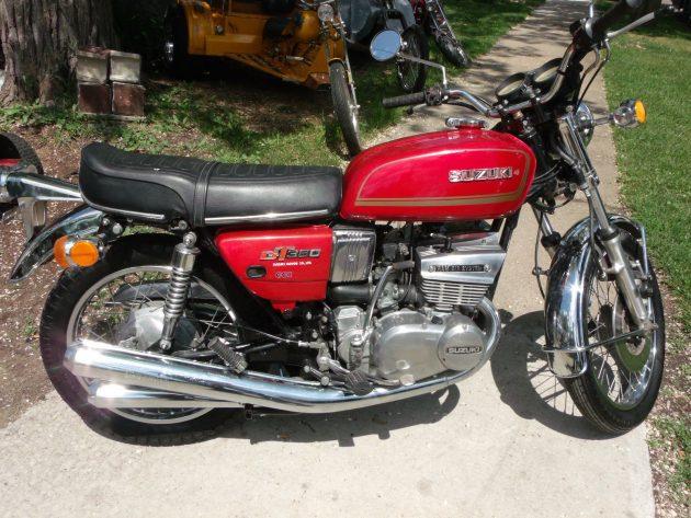 053116 Barn Finds - 1974 Suzuki GT380 - 1