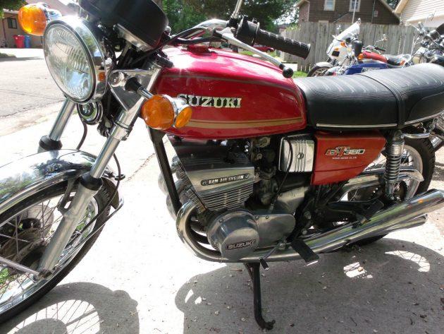 053116 Barn Finds - 1974 Suzuki GT380 - 2