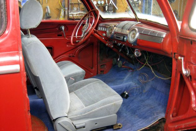 1947 Ford Coupe Interior