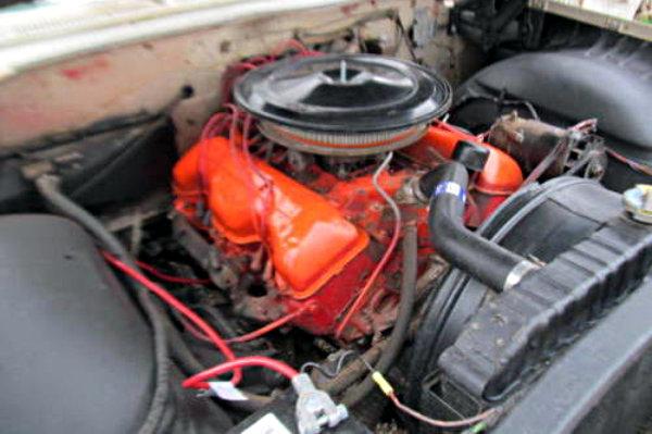 1961 Chevy Impala 348 Engine
