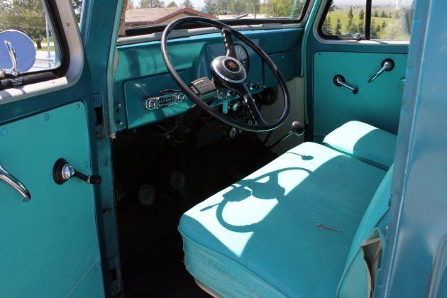 1963 Willys Wagon Interior