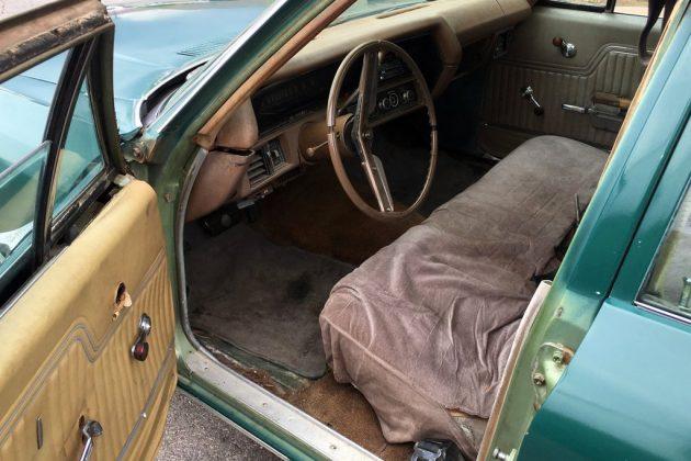 1970 Chevelle Wagon Interior