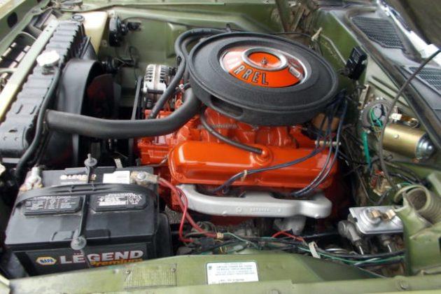 1970 Plymouth Cuda 340 Engine
