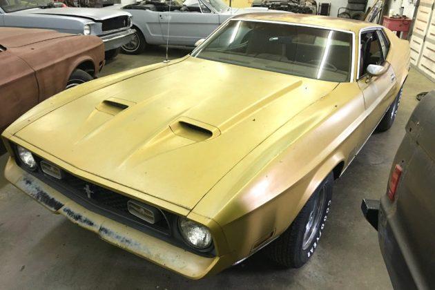 1972 Mustang Mach 1 351CJ
