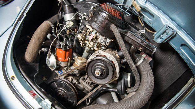 1974 VW Beetle Engine