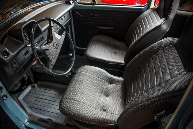 1974 VW Beetle Interior