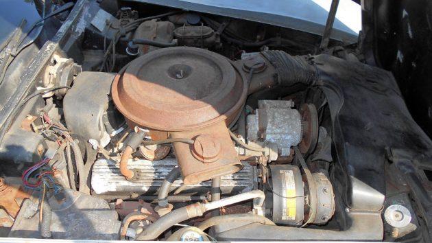 1978 Corvette Engine