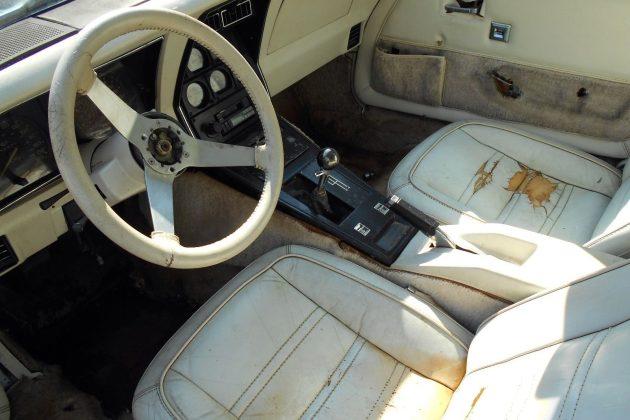 1978 Corvette Interior