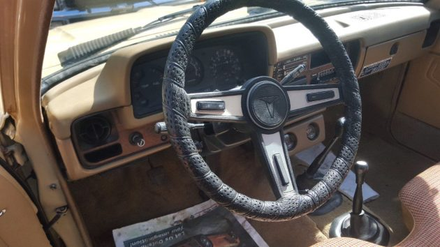 1980 Toyota Hilux Interior