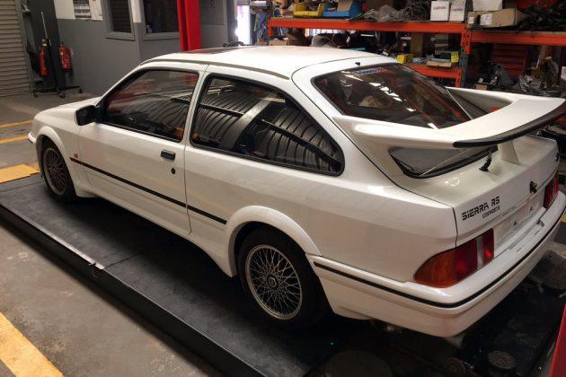 1986 Ford Sierra RS Barn Find