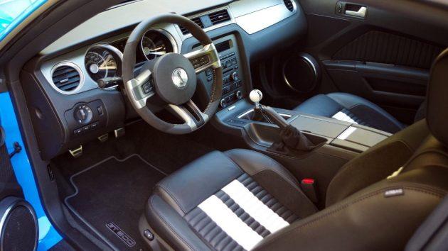 2010 Shelby GT 500 Interior