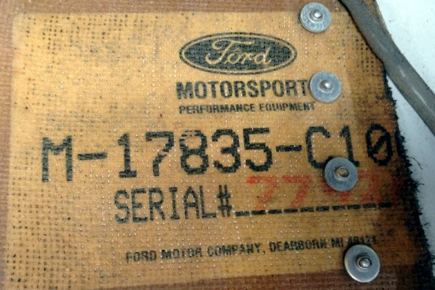 Ford Motorsports Serial