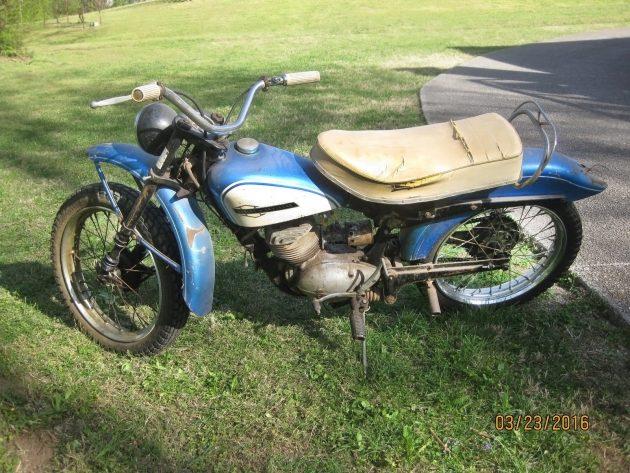 060716 Barn Finds - 1964 Harley-Davidson Scat - 1