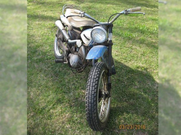 060716 Barn Finds - 1964 Harley-Davidson Scat - 2