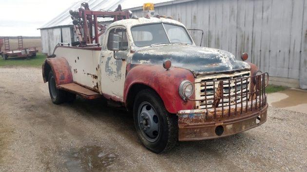 061316 Barn Finds - 1949 Studebaker 2R17 Holmes 515 Wrecker - 1