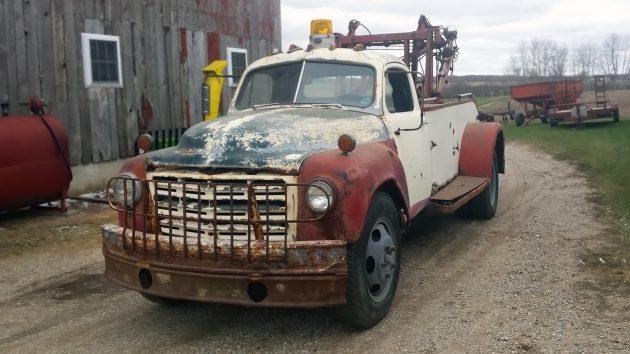 061316 Barn Finds - 1949 Studebaker 2R17 Holmes 515 Wrecker - 2