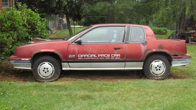 061516 Barn Finds - 1985 Oldsmobile Calais Indy Pace Car - 1