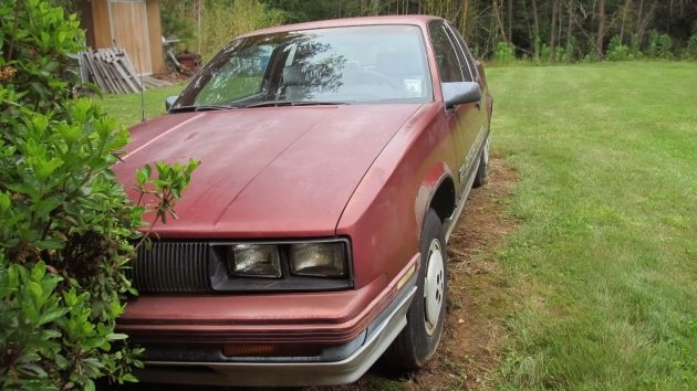061516 Barn Finds - 1985 Oldsmobile Calais Indy Pace Car - 2