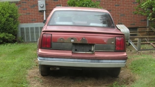 061516 Barn Finds - 1985 Oldsmobile Calais Indy Pace Car - 3