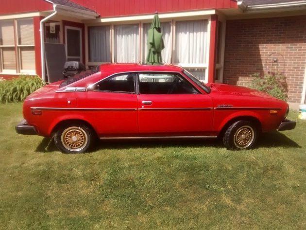 061616 Barn Finds - 1979 Subaru FE Coupe Electric Car - 1