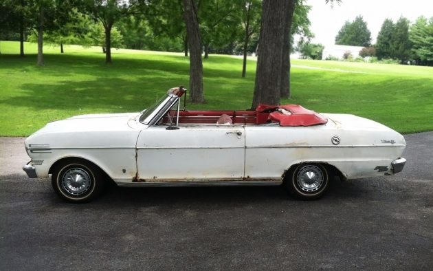062716 Barn Finds - 1962 Chevrolet Chevy II Nova 400 - 1