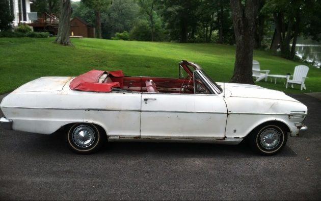 062716 Barn Finds - 1962 Chevrolet Chevy II Nova 400 - 2