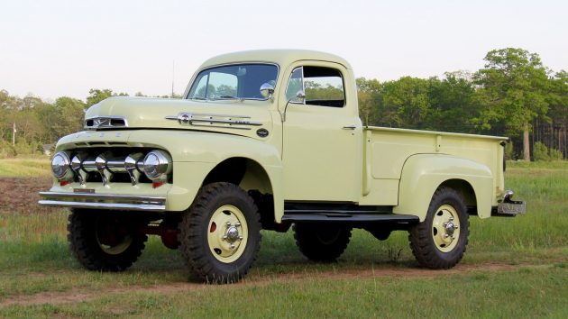 1952 Ford F3 4x4