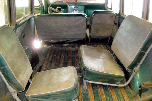 1956 Willys Wagon Interior