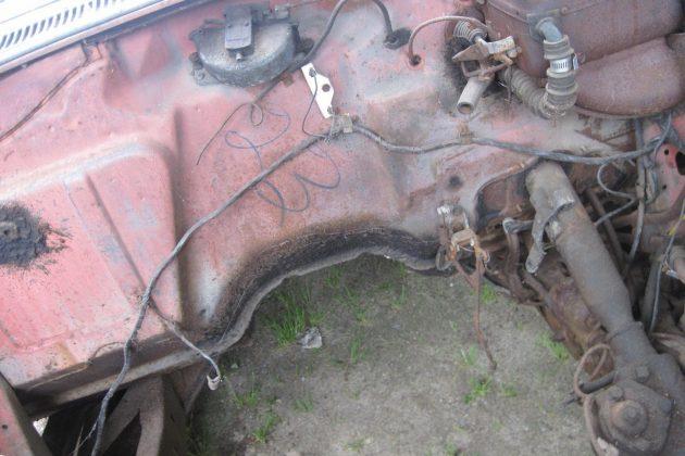 1957 Pontiac Chieftain Enginebay