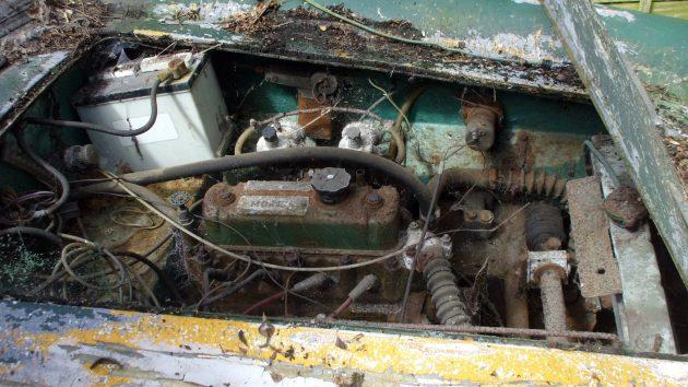 1960 Turner 950 Sport Engine