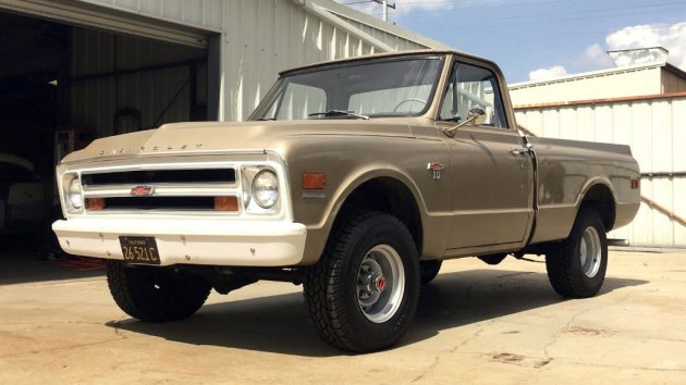 1968 Chevy K10 Shortbed
