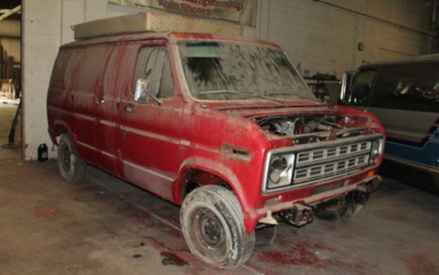 1978 Ford E-100 Van