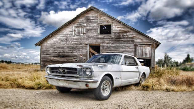 Barn Find's Mustang