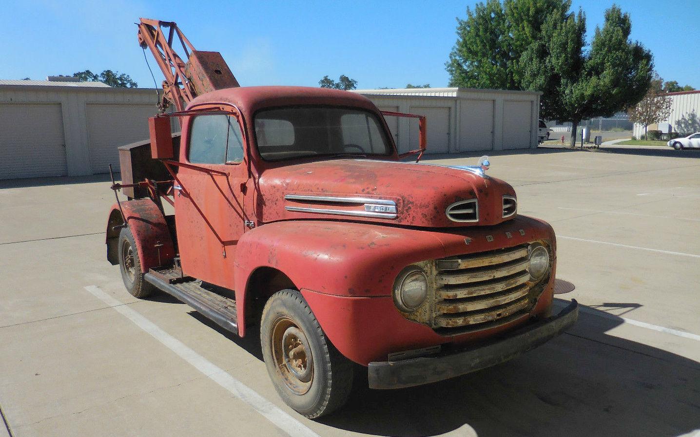 Wrecker Since New  1948 Ford F2  U2013 Barn Finds