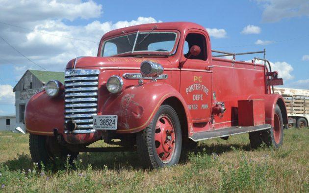 1940 GMC Fire Truck