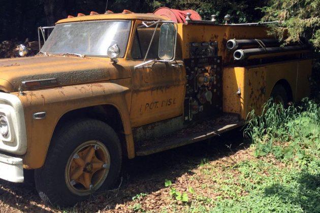 1972 Ford Firetruck