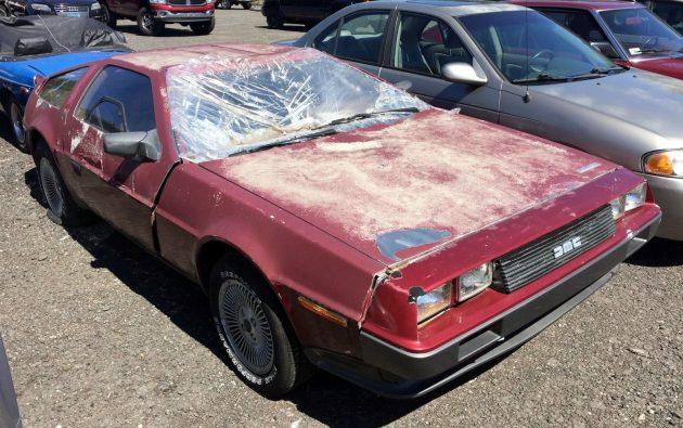 Abandoned DeLorean