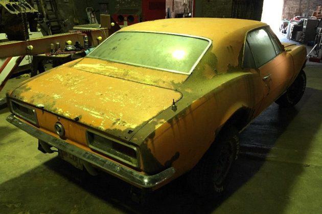 Rusty 1967 Camaro