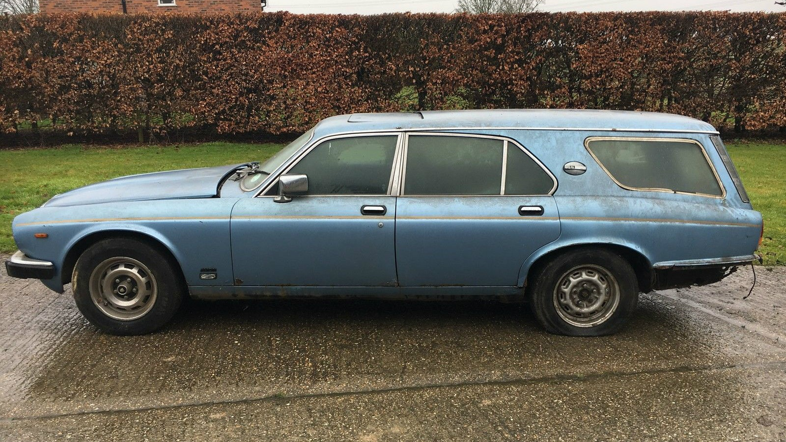 Ever Seen One 1981 Jaguar Xj Ladbroke Wagon