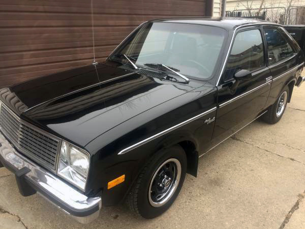 back in black 1981 chevrolet chevette back in black 1981 chevrolet chevette