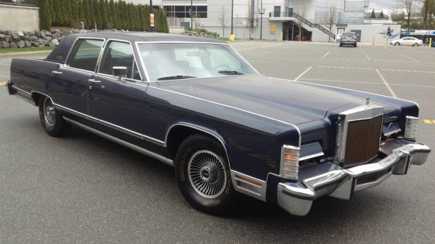 One Owner 1979 Lincoln Continental Town Car
