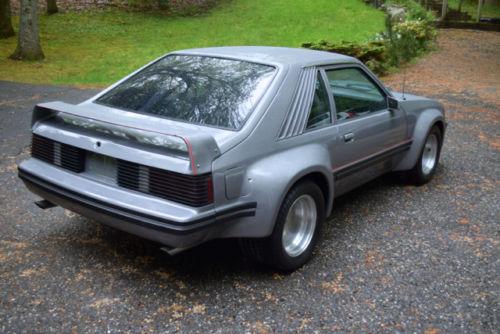 Flared Fox Body 1982 Ford Mustang Gt Imsa