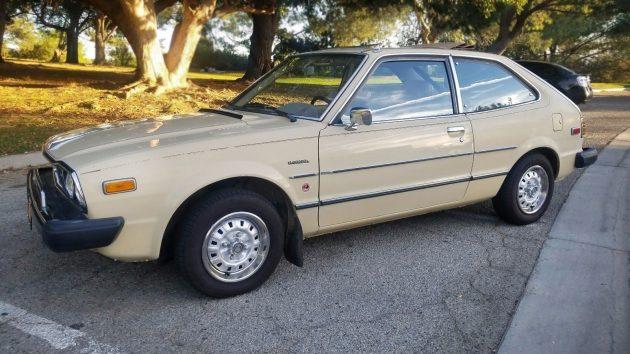 Slick Sliding Ragtop: 1979 Honda Accord - Barn Finds