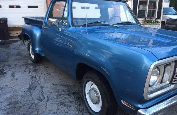 Low Mileage Beauty: 1978 Dodge D100